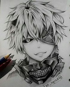If you want to learn how to draw anime, you have come to the right place. We have some simple tutorials, as well as pictures to get inspiration from. girl drawing ▷ 1001 ideas on how to draw anime - tutorials pictures Anime Character Drawing, Manga Drawing, Manga Art, Manga Anime, Anime Art, Pencil Sketch Drawing, Anime Drawings Sketches, Anime Sketch, Art Drawings