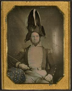 c. 1855: General Minier, New York State Militia