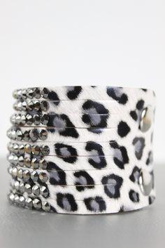 Arrival PopuArrival Popular Leopard Bracelet Whitelar Leopard Bracelet White
