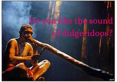 Didgeridoo music resonates with the base chakra. Visit http://readmysongreadmysoul.com