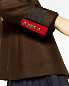 Image 4 of SHORT COAT from Zara