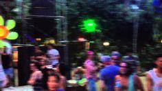 Wild morning dance at Jungle Experience, Koh Phangan, Thailand June2014