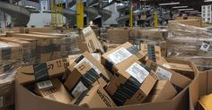 On Cyber Monday, theAmazon fulfillment center in this rural town 60 miles east of San Francisco was a whirling, zooming, bustling beehive of activity.