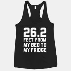 Bed To Fridge #marathon #26.2 #running