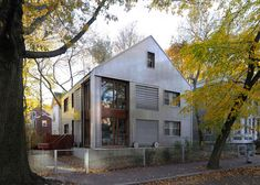 Massachusetts house has translucent plastic walls and wheeled shutters