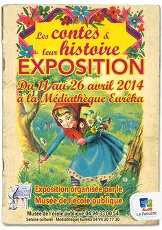 EXPOSITION Les contes et leur histoire. Du 11 au 26 avril 2014 à la-farlede.