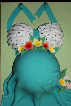 This is an adorable cake idea for a future baby shower for friends or family.
