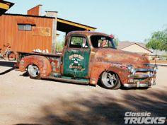 1954 Chevrolet Pickup Truck #RatRod