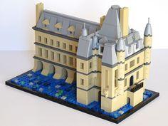 Image Lego Titanic, Technique Lego, Micro Scale, Micro Lego, Lego System, Lego Castle, Lego Architecture, Lego Stuff, Lego Building