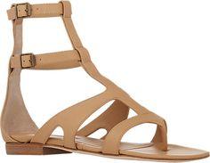 Manolo Blahnik Eliza Gladiator Sandals - Flats - Barneys.com