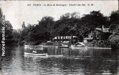 """""""Le Bois de Boulogne-Chalet des Iles."""" Vintage Post Card (http://www.notrefamille.com/cartes-postales-photos/cartes-postales-photos-Le-Bois-de-Boulogne--Chalet-des-Iles-75016-PARIS-75-paris-240562-66464-detail.html)"""