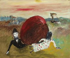 Sidney Nolan - Kate Kelly Pursued by Constable Fitzpatrick Sidney Nolan, Ned Kelly, Australian Art, Art Auction, Art For Sale, Scene, Drawings, Illustration, Painting