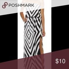 ❤️️❤️️Chevron black and white dress❤️️❤️️ ♥️♥️♥️♥️♥️♥️This is a beautiful chevron dress size large. This is the last one♥️♥️♥️♥️♥️♥️♥️♥️♥️♥️♥️♥️♥️ Dresses Maxi