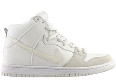 sneakers for cheap a8044 b92e7 Nike SB Dunk High  Summit White  -- also necessary for summer Nike  Skateboarding