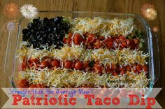 Erin Traill, Diamond Beachbody Coach, Healthy taco dip, healthy recipe, summer recipe, clean eating, dramatic weight loss, red white and blue, fourth of july, patriotic, nurse, fit mom, pittsburgh