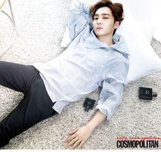Roy Kim - Cosmopolitan Magazine December Issue '14 Eddy Kim, Kim Sang Woo, Solo Male, Bi Rain, Eric Nam, Cosmopolitan Magazine, Fangirl, Kpop, Mens Fashion