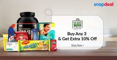 Offer On Daily Need Products @Snapdeal #skincare #nutrition #household #babycare
