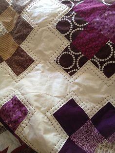 My purple quilt