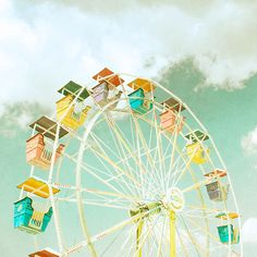 Ferris Wheel (Longenecker) Mural - Zee Longenecker| Murals Your Way