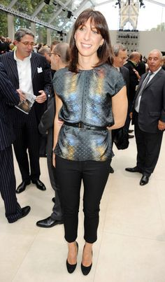 Reptilian-style printed shirt with a hint of colour , Samantha Cameron Samantha Cameron, Caroline Issa, Photo L, Sheffield, Front Row, Backstage, Printed Shirts, Classic Style, Burberry