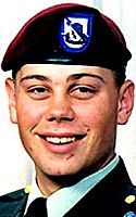 Army SPC Edward L. Myers, 21, of St. Joseph, Missouri. Died July 27, 2005, serving during Operation Iraqi Freedom. Assigned to 3rd Battalion, 69th Armor Regiment, 3rd Infantry Division, Fort Stewart, Georgia. Died of injuries sustained when an improvised explosive device detonated near his vehicle during combat operations in Samarra, Salah ad Din Province, Iraq.