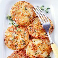 Hash Brown Potato Cakes @keyingredient