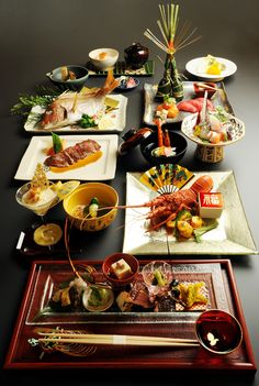I like Japanese food and this is the course menu based on the sea food. I particularly like the salmon!