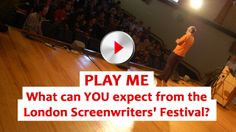 @Matty Chuah London Screenwriters Festival 2014... Are You Coming?