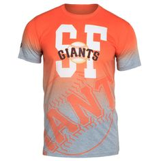 San Francisco Giants Klew Gradient Sublimated T-Shirt - Gray - $34.99