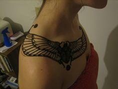 Egyptian Tattoo Designs for Men and Women Head Tattoos, Girl Tattoos, Tattoos For Guys, Tatoos, Scarab Beetle Tattoo, Egypt Tattoo, Under My Skin, Piercing Tattoo, Piercings