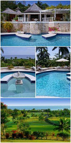 Montego Bay Jamaica Caribbean Wimco Villa Pinnacle. #TryallClub #retreat #paradise