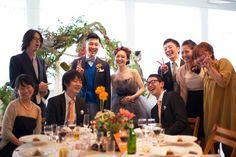 ゲストも新郎新婦も一緒に歌う、踊る!笑顔のウェディングパーティー 【ムービー有り】 | Party Report | PARTY | CLASKA