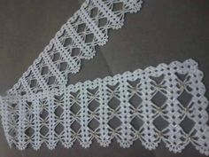 This post was discovered by Ro Crochet Motifs, Crochet Borders, Crochet Art, Crochet Squares, Filet Crochet, Crochet Patterns, Decor Crafts, Diy And Crafts, Romanian Lace