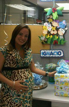 Baby shower en la oficina. Agosto 2014