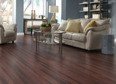 Scarlet Antique Clic Strand Bamboo: easy click-together installation, durable, eco-friendly #bamboo #flooring