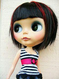 Blythe-Black Hair