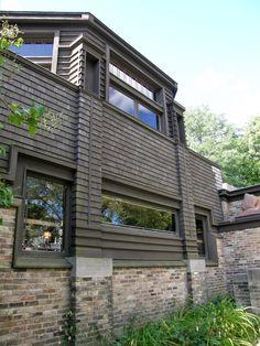 Oak Park Home & Studio - Frank Lloyd Wright