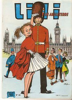 LILI NO 22 EN Angleterre AL G Jeunesse Joyeuse 3EME Trim 1974