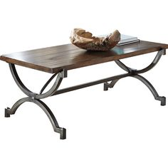Features:Table frame is made from tubular metal in a bronze toned finish with glaze accentMindi wood veneer table to...