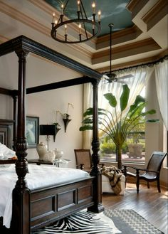 british colonial decorating ideas pic photo image on bdebcbcbdf tropical master bedroom master bedroom design bedroom ideas Tropical Master Bedroom, Tropical Bedrooms, Coastal Bedrooms, Master Bedroom Design, Master Bedrooms, White Bedrooms, Bedroom Modern, Coastal Homes, Orange Bedrooms