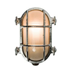 Oval Cage Bulkhead Sconce - | Rejuvenation