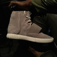 Here's Kanye's New adidas Shoe, the Yeezy Boost