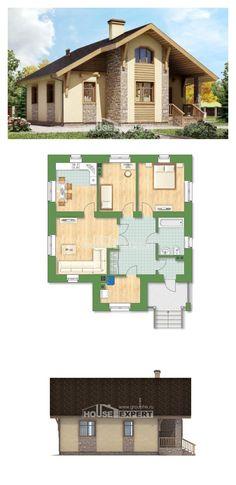 Ev villa projesi 080-002-R | House Expert