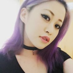 Naomi Ogawa @naominzy purplehairやっ...Instagram photo | Websta (Webstagram)