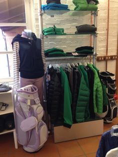 Pro Shop at the Golf Club Udine, Fagagna - Italy.