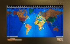 Kilburg Geochron World Clock - Pursuitist only $1,800