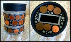 DIY Small Saving Bank ;) Savings Bank, About Me Blog, Diy, Coffer, Bricolage, Do It Yourself, Fai Da Te, Diys