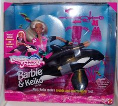Ocean Friends Barbie & Keiko. This was just about the best barbie you could have as a little girl in the 90's.