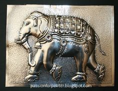 Passion for Pewter: Indian Elephant