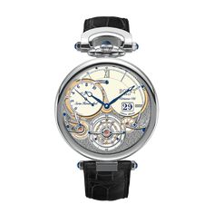 Bovet 1822 Swiss handcrafted timepiece Fleurier Grandes Complications Virtuoso VIII with 10-day flying tourbillon big date
